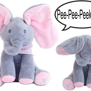Other - Peek-a-Boo Animated Talking Singing Elephant Plush